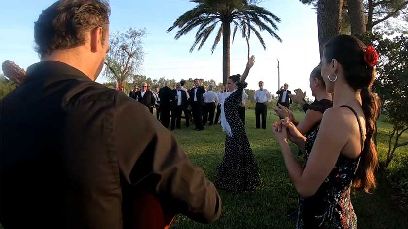Flamenco music wine tour mallorca