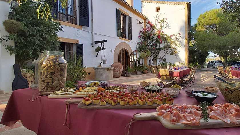 winery private dinner mallorca